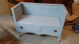 Dresser Bench After